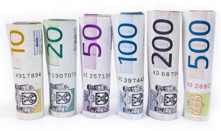 Kurs dinara 118,13