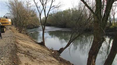 Prije roka izgrađen privremeni nasip na rijeci Drini