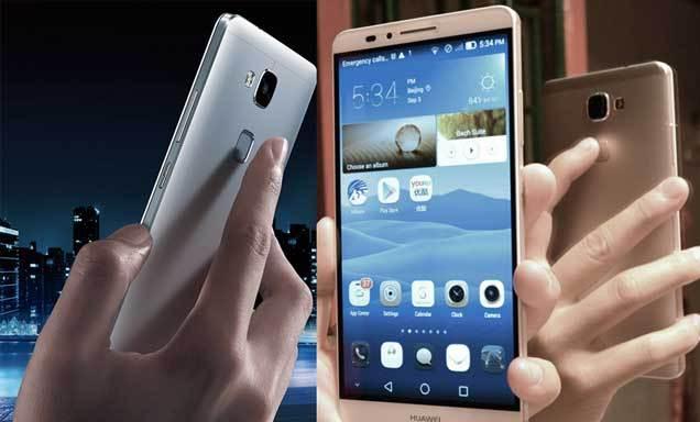 Huawei Mate 7 - skener za otisak prsta