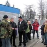 Radnici RAOP-a protestovali ispred fabrike