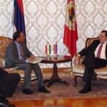 Proširiti privrednu saradnju Srpske i Indije