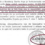 Specijalno tužilaštvo odbilo istražiti kriminal u Bobar banci
