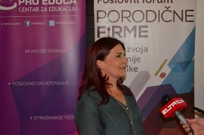 Zorica Jovan i , vlasnica restorana 'Toplik' Isto no Sarajevo
