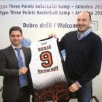 """Miroslav Berić promoter košarkaškog kampa """"Hipo tri poena"""""""