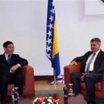 Zvizdić-Čunfeng: Posvećenost ekonomskoj saradnji