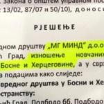 """Vlada odobrila """"MG Mindu"""" da iz RS iznese 7,9 miliona evra"""