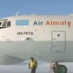 Boeing 757 prvi put sletio na santu leda