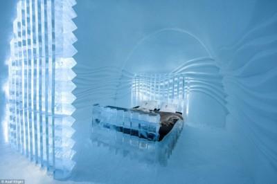 Švedska i ove godine gradi ledene hotele