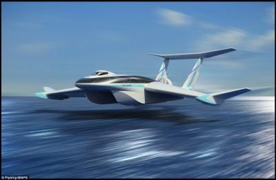 FlyShip: Brod koji može letjeti je budućnost brzog i jeftinog transporta