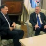 Nikolić i Dodik: Efikasna realizacija započetih zajedničkih projekata