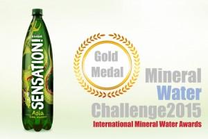 Sensation Asia proglašena najboljom gaziranom vodom s okusom