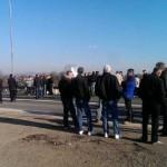 Radnici Krivaje ponovo pred zgradom Opštine Zavidovići
