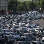 Drugi dan protesta taksista u Parizu