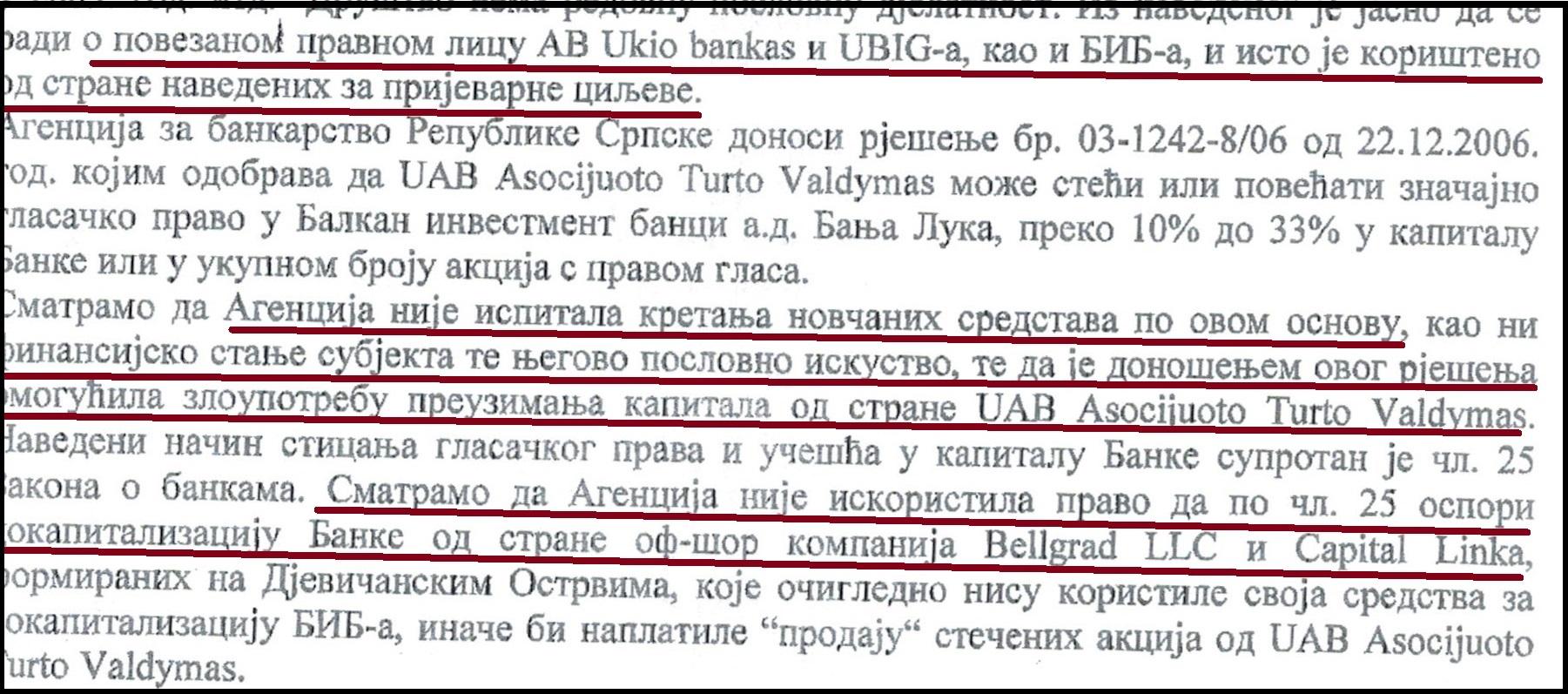 EKSKLUZIVNO: Agencija za bankarstvo omogućila pljačku BIB (II)