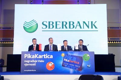 Sberbank novi partner Pika Kartica programa lojalnosti