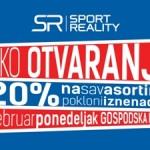 """Otvaranje prve """"Sport Reality"""" prodavnice u BiH"""