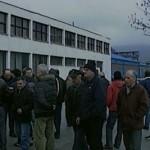"""Protest radnika zeničke firme """"Metalno"""", traže isplatu plata"""