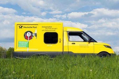 Njemačka pošta kupuje 30.000 električnih vozila