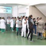 Gradiška: Protest radnika bolnice zbog smanjenja plata