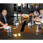 Zvornik: Stevanović i Lakić razgovarali o privrednim temama