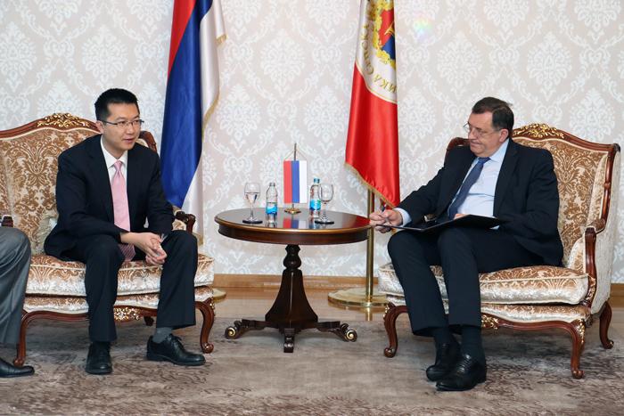Dodik: Srpska otvorena za saradnju sa kineskom kompanijom