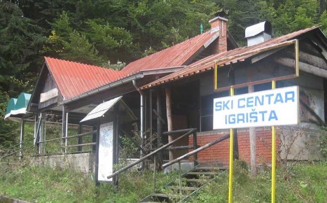 Ski-centar Igrišta pretvoren u ljušturu
