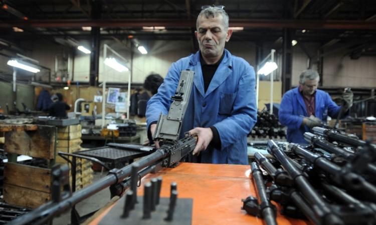 Izvoz namjenske industrija BiH 129,98 miliona KM