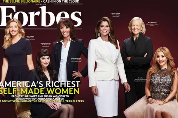 Forbs lista žena: Naslovnica teška 9,7 milijardi dolara