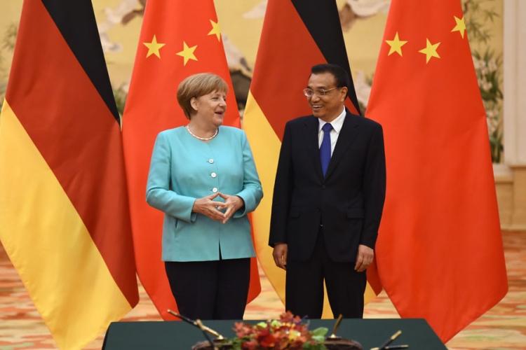 Merkel u Kini o trgovinskim sporazumima