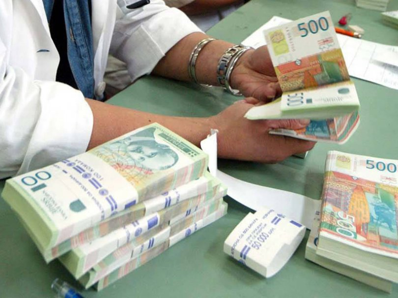 Dinar nastavio rast, kurs 123,29