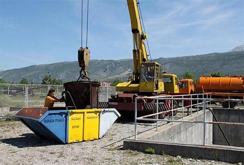 Završna faza izgradnje sabirnog bazena