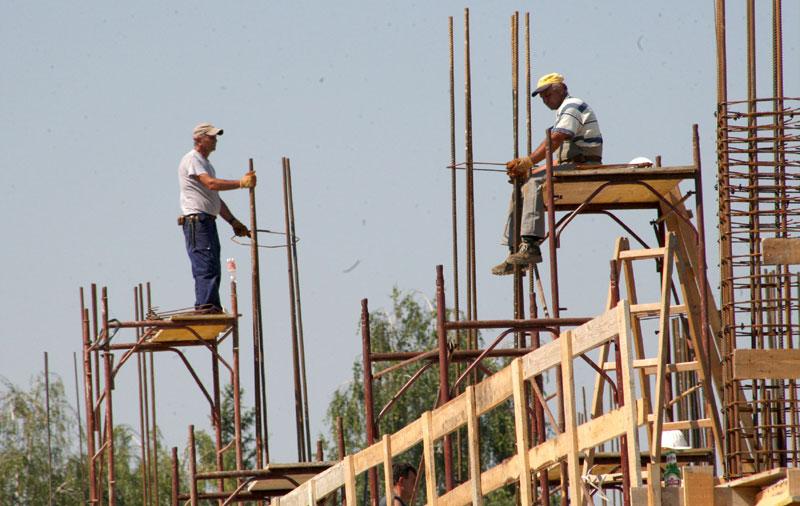 Građevinari uposleni jedino u gradovima