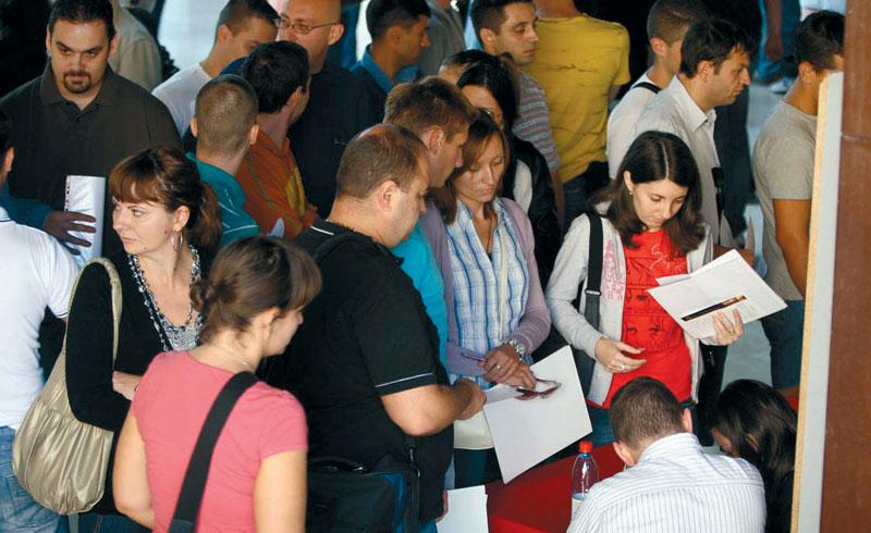 Srbija: Stopa nezaposlenosti u drugom kvartalu 15,2 odsto