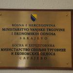 BiH nije dobila obavještenje o zabrani uvoza bh. proizvoda u Rusiju