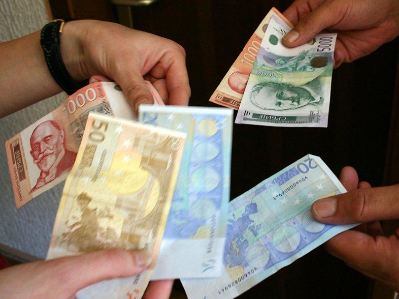 Evro danas 123,5935 dinara
