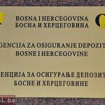 Agencija za depozite BiH će samo informativno nadgledati banke u RS i FBiH