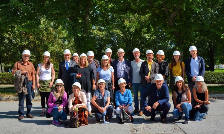 Njemački sindikalci posjetili Fabriku cementa Kakanj
