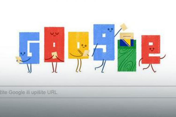 Google posvetio naslovnicu izborima u BiH