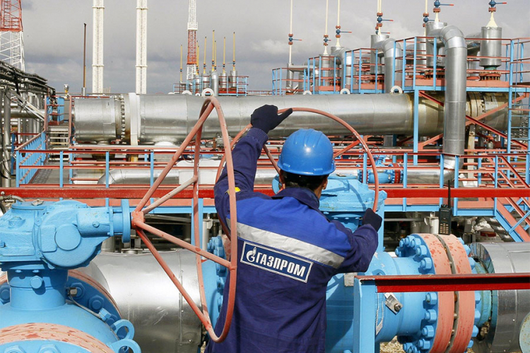 """""""Gasprom"""" povećao proizvodnju gasa za 12,4 odsto"""