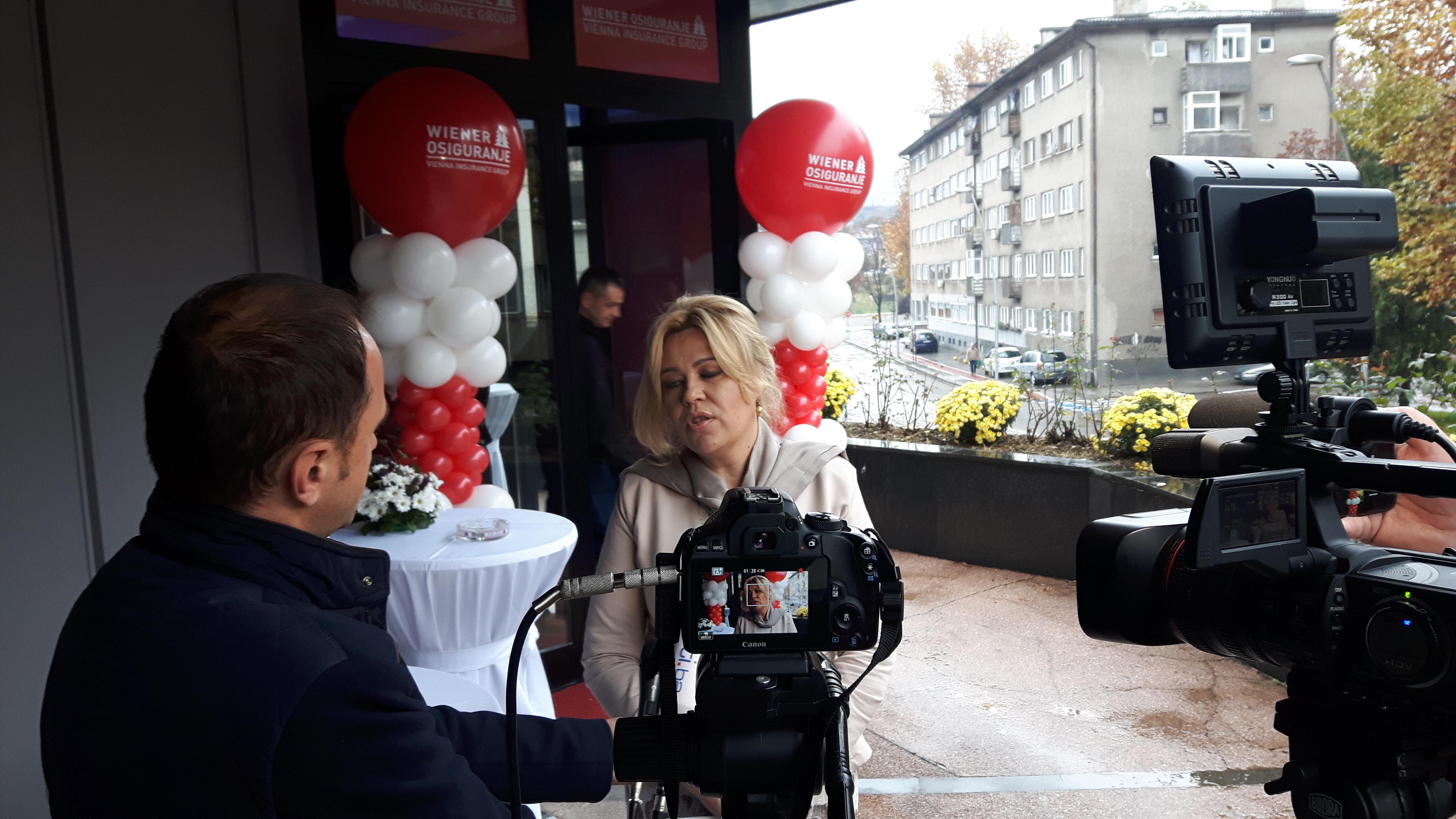 Wiener osiguranje u Zenici, svečano, na novoj adresi sa novim direktorom