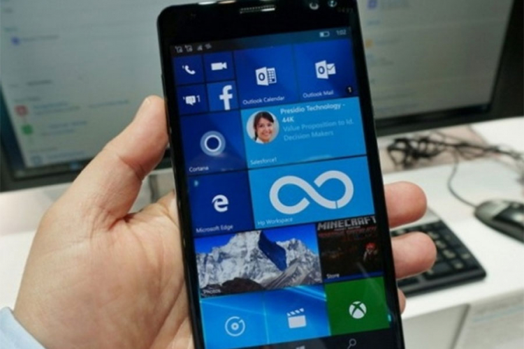 HP i Microsoft rade na novom Windows 10 Mobile telefonu
