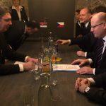 """Vučić sa Sobotkom o oživljavanju rudnika """"Štavalj"""""""