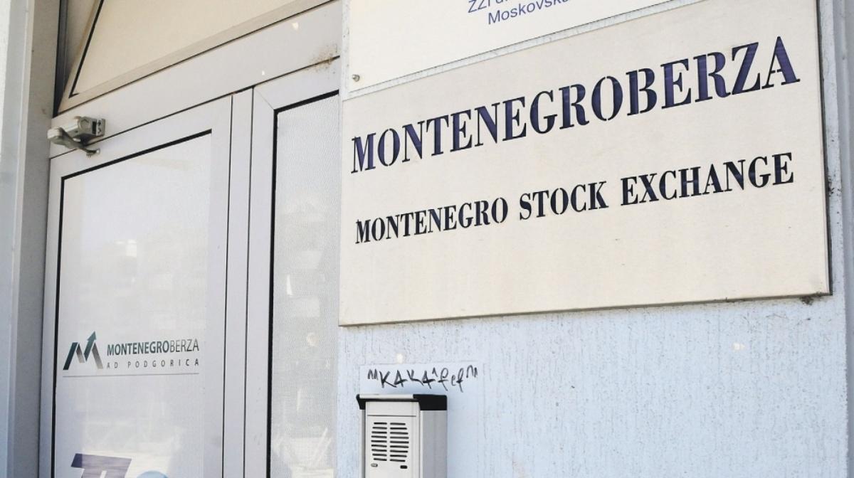 Montenegro berza: Prodato još pet miliona evra državnih obveznica