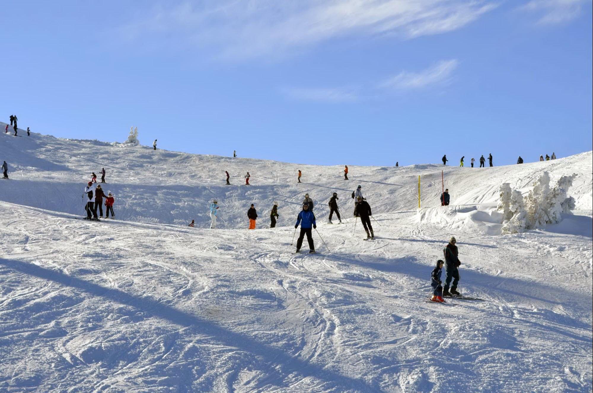 """Idealni uslovi za skijanje na stazi """"Skočine"""" na Jahorini"""