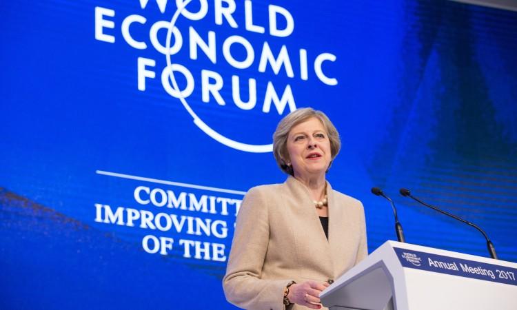 May u Davosu: Velika Britanija će biti globalni lider u trgovini
