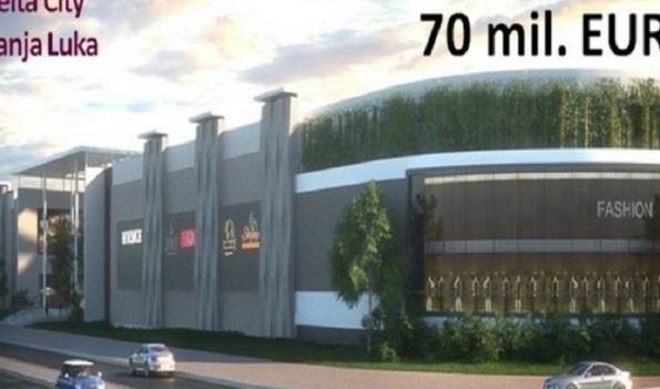 """""""Delta City"""" u Banjaluci: Počinje gradnja, investicija vrijedna 70 miliona evra"""