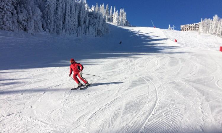 Jahorina: Počelo skijanje na stazi Poljice