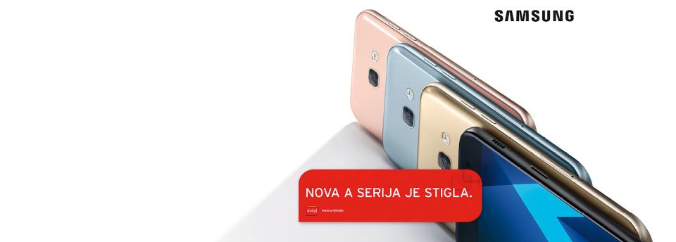 """U ponudi telefoni nove generacije """"galaksi A"""""""