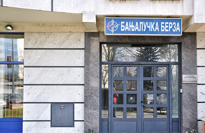 Na Banjalučkoj berzi ostvaren promet od 3,14 miliona KM