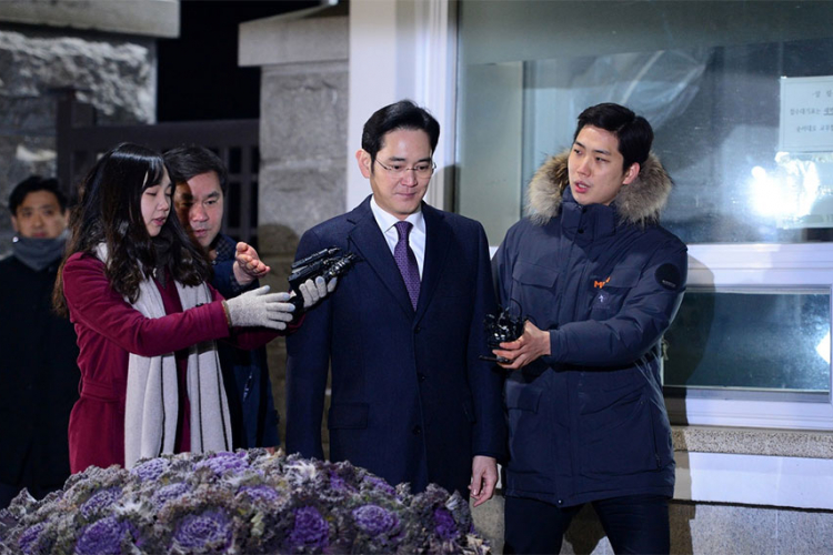 Uhapšen potpredsjednik kompanije Samsung elektroniks